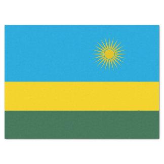 Papel De Seda Bandeira de Rwanda