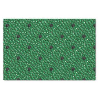 Papel De Seda Botões verdes