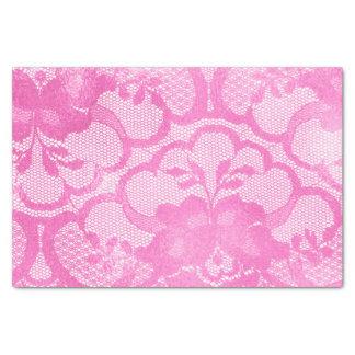 Papel De Seda Do rosa brilhante do rosa do laço Lux Glam