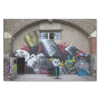 Papel De Seda Grafites em Stadtbahnbogen, Wien Österreich
