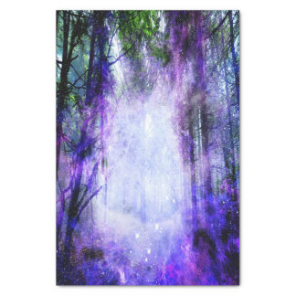 Papel De Seda Portal mágico na floresta