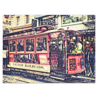 Papel De Seda San Francisco, teleférico
