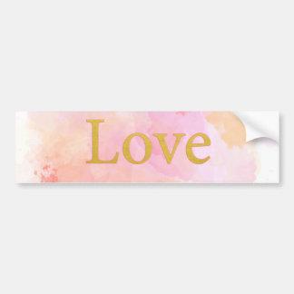 Papel do amor - mostre seu amor adesivo para carro