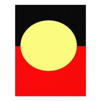 Papel Timbrado Aborígene-Bandeira
