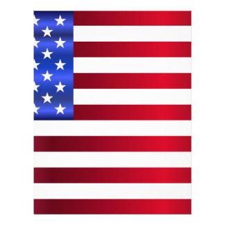 Papel Timbrado América-Bandeira