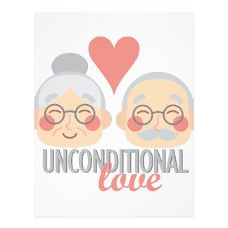 Papel Timbrado Amor incondicional