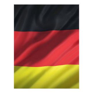 Papel Timbrado bandeira-Alemanha