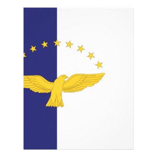 Papel Timbrado Bandeira de Açores