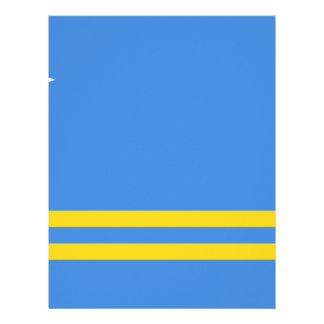 Papel Timbrado Bandeira de Aruba