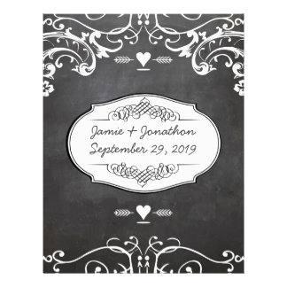 Papel Timbrado Casamentos da tipografia do quadro