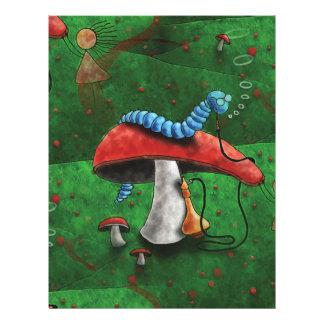 Papel Timbrado Cogumelo mágico