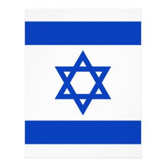 Papel Timbrado Flag_of_Israel