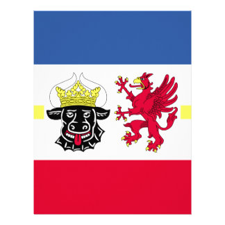 Papel Timbrado Flag_of_Mecklenburg-Western_Pomerania_