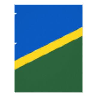 Papel Timbrado Flag_of_the_Solomon_Islands