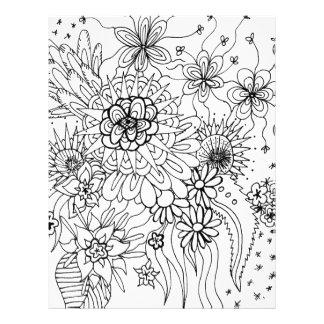 Papel Timbrado Flores selvagens