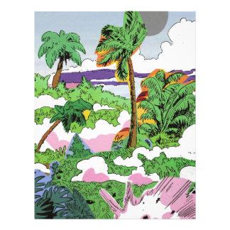 Papel Timbrado Fumo da selva