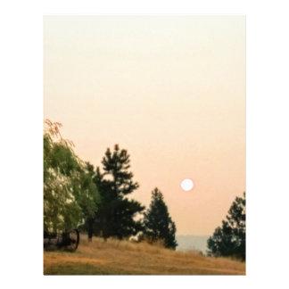 Papel Timbrado Fumo no sol