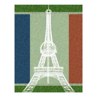 Papel Timbrado Futebol-Bandeira de France