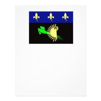 Papel Timbrado Guadalupe-bandeira