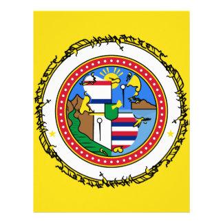 Papel Timbrado honolulu-bandeira