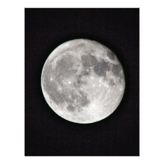 Papel Timbrado Lua cheia