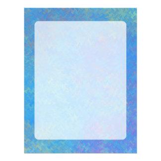 Papel Timbrado Olhar bonito do papel marmoreado do azul