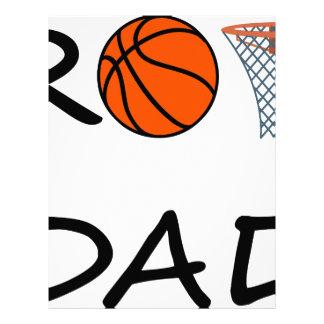 Papel Timbrado PAI do basquetebol
