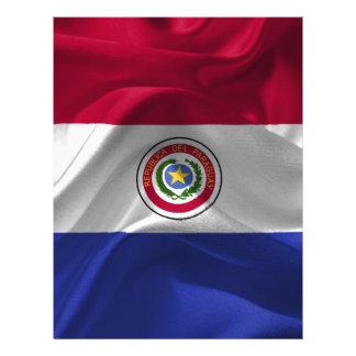 Papel Timbrado Paraguai-Bandeira