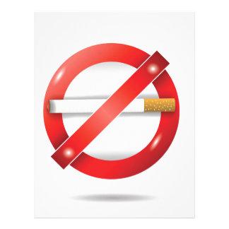 Papel Timbrado pare o cigarro