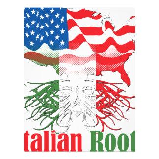 Papel Timbrado raizes italianas