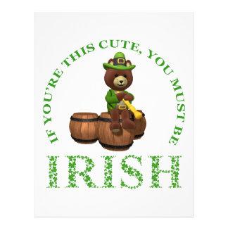 Papel Timbrado Se você é este bonito você deve ser irlandês