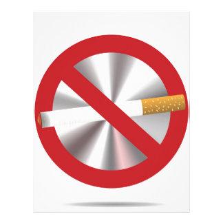 Papel Timbrado sinal não fumadores