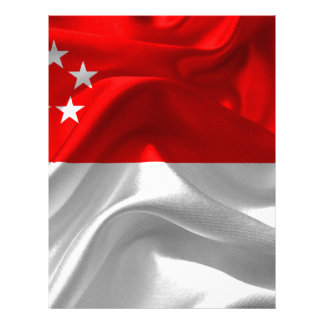 Papel Timbrado Singapore-Bandeira
