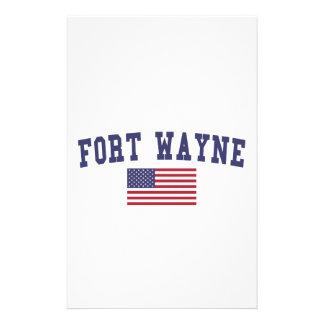 Papelaria Bandeira de Fort Wayne E.U.