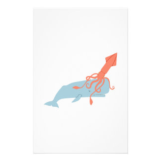 Papelaria Calamar & baleia