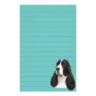 Papelaria Cão do Spaniel de Springer inglês