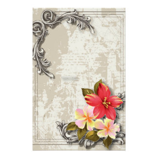 Papelaria casamento tropical floral do hibiscus de Havaí do