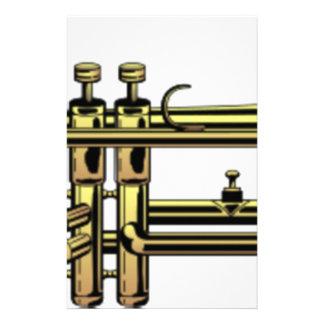 Papelaria Desenhos animados da trombeta