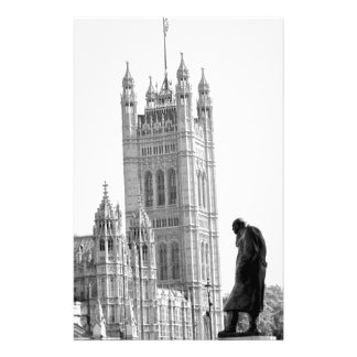 Papelaria Estátua de Winston Churchill em Londres
