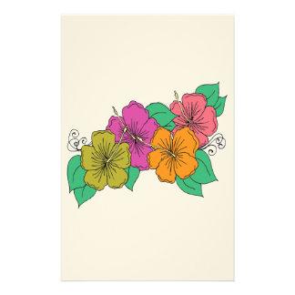 Papelaria Flor do hibiscus