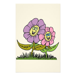 Papelaria Flores do smiley