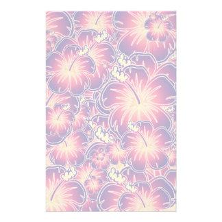 Papelaria Hibiscus roxo