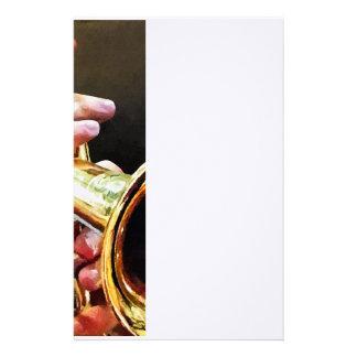 Papelaria Homem que joga a trombeta