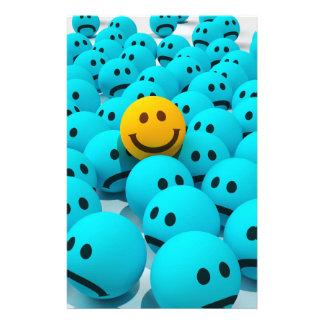 Papelaria Imagem do divertimento do smiley face