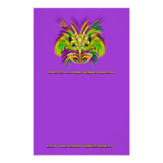 Papelaria Mardi-Gras-Mask-The-Queen-V-2