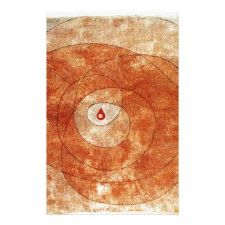 Papelaria No núcleo por Paul Klee