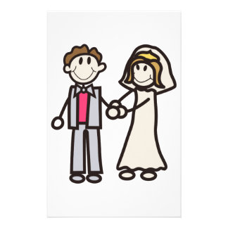 Papelaria Noiva & noivo da vara