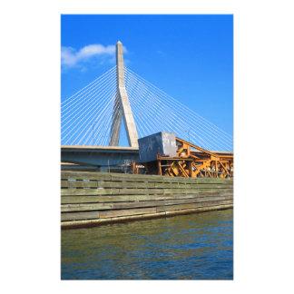Papelaria Opinião da ponte dos EUA América da cidade de