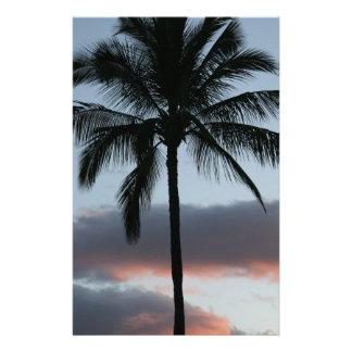 Papelaria Palmeira tropical do paraíso