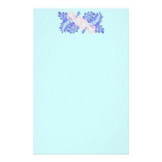 Papelaria papel de carta do hibiscus